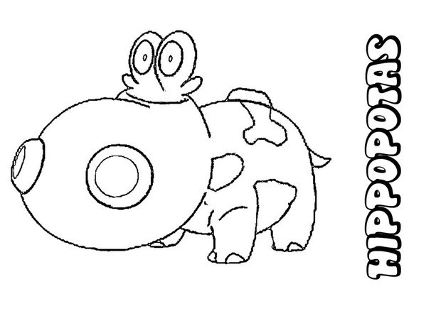 ground pokemon coloring pages - photo#21