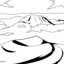 Auvergne volcano