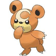 Teddiursa pokémon Pokemon coloring page