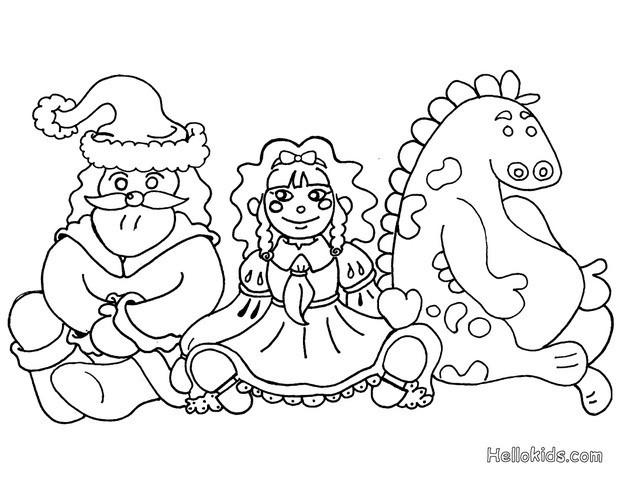 Kids toys coloring pages - Hellokids.com