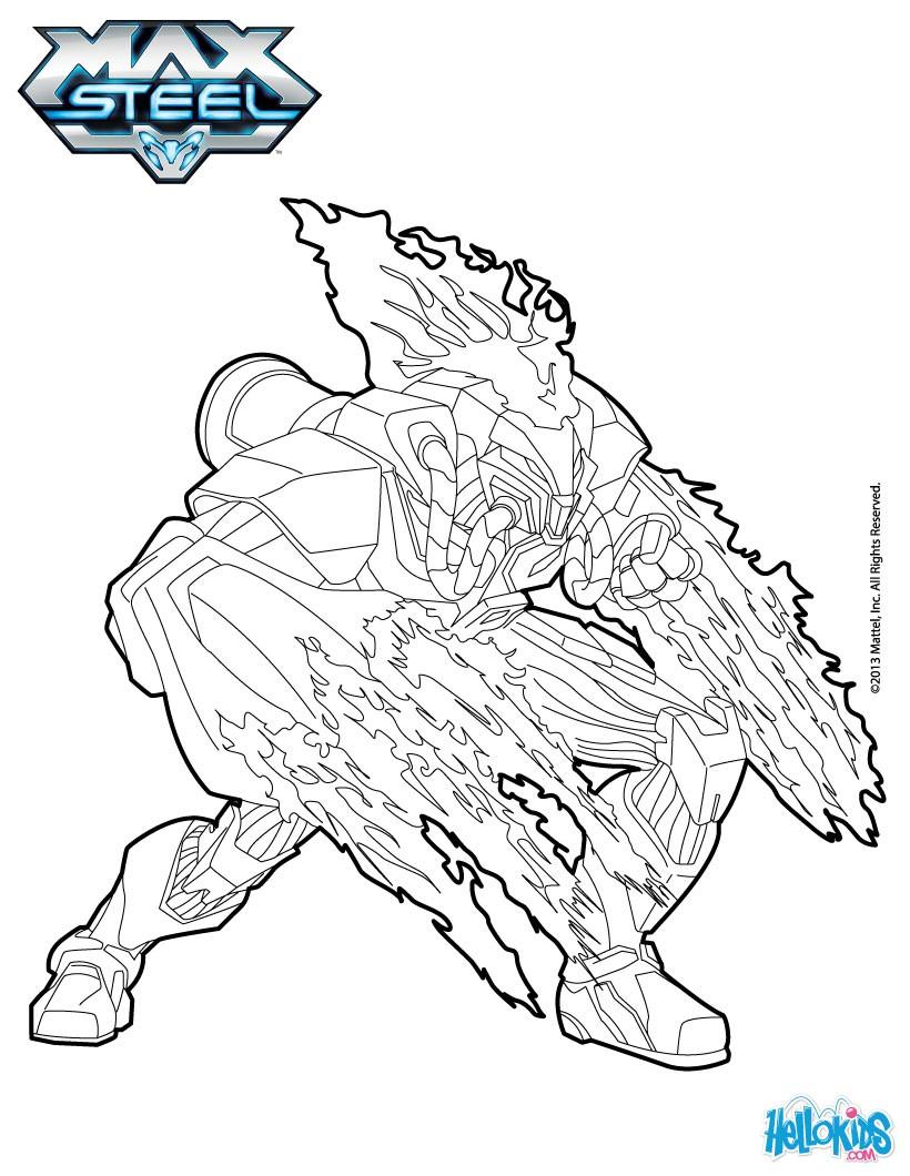 Toxzon coloring pages - Hellokids.com