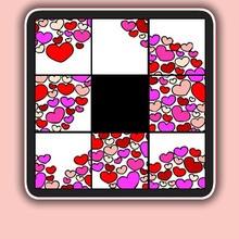 Valentine's Day, VALENTINE sliding puzzles