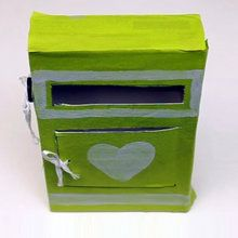 Valentine love letter box easy to make