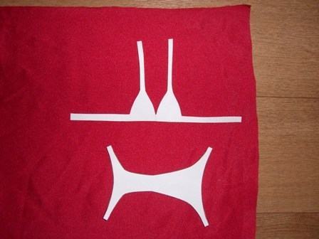 Make a no sew doll Swimsuit