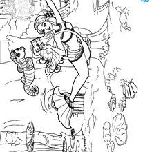 Barbie the pearl princess coloring pages lumina receives for Barbie the pearl princess coloring pages