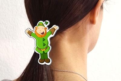 Leprechaun Hair Clip