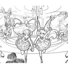Barbie and Raquelle fairies