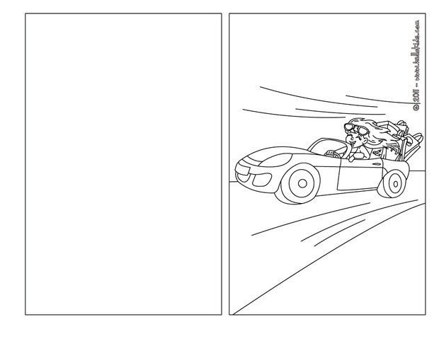 Mommy runs fast coloring page