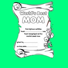 MOTHER'S DAY coloring pages : 35 free printables to color ...