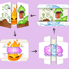 The 4 Elements Origami Infinite Flipper craft project