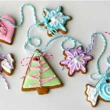 Winter Gingerbread Cookies