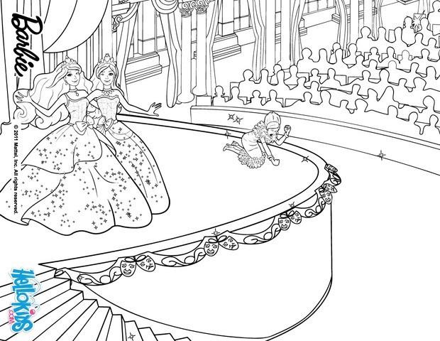 barbie coloring pages princess charm school - dame devin defeat coloring pages
