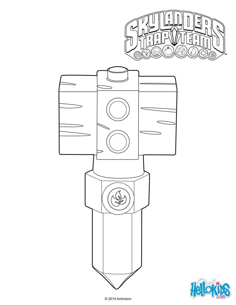 skylander trap team coloring pages - photo#34