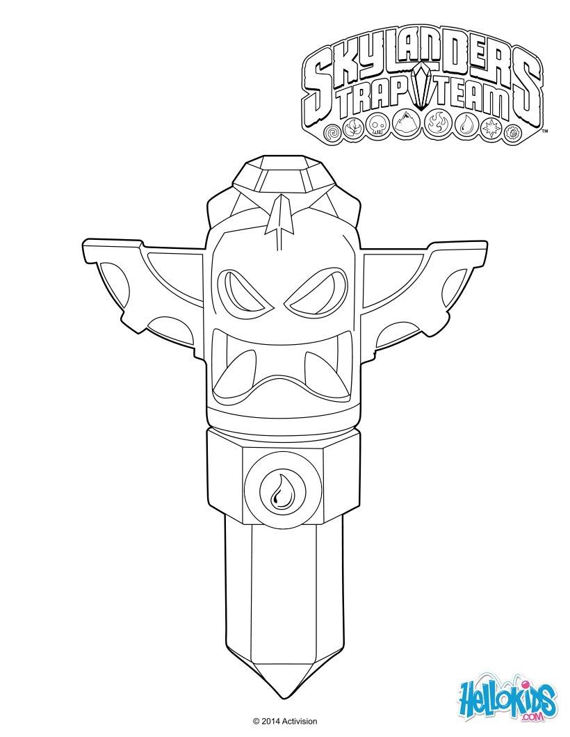 skylander trap team coloring pages - photo#23