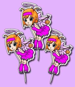 Fairy Cupcake Topper topper