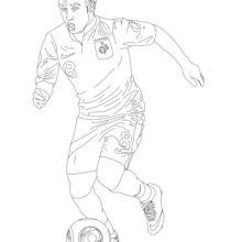 Matthieu Valbuena coloring page