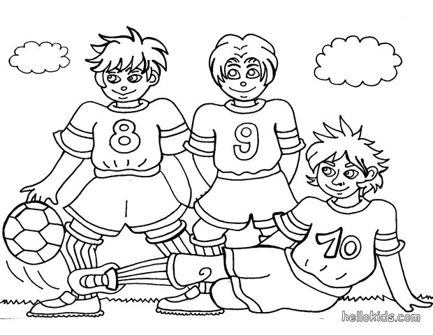 dragons soccer coloring pages - photo#14