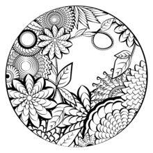 Mandala Coloring Page Coloring Pages Hellokids Com