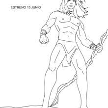 Tarzan coloring page