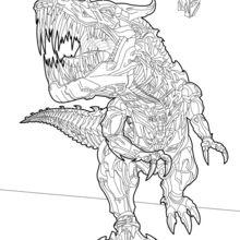 Grimlock coloring page
