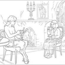 Mr Tumnus and Lucy
