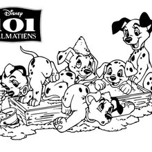 101 Dalmatians Coloring Pages 41 Free Disney Printables For Kids To Color Online