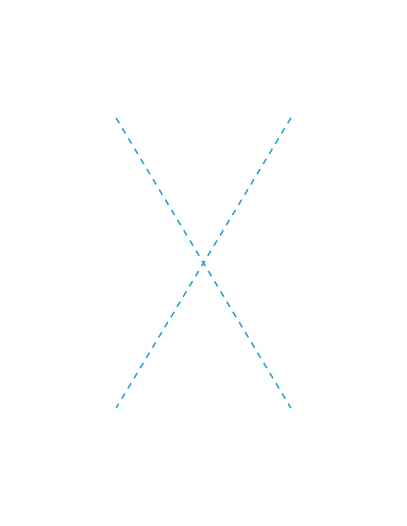 The Letter X how-to draw lesson