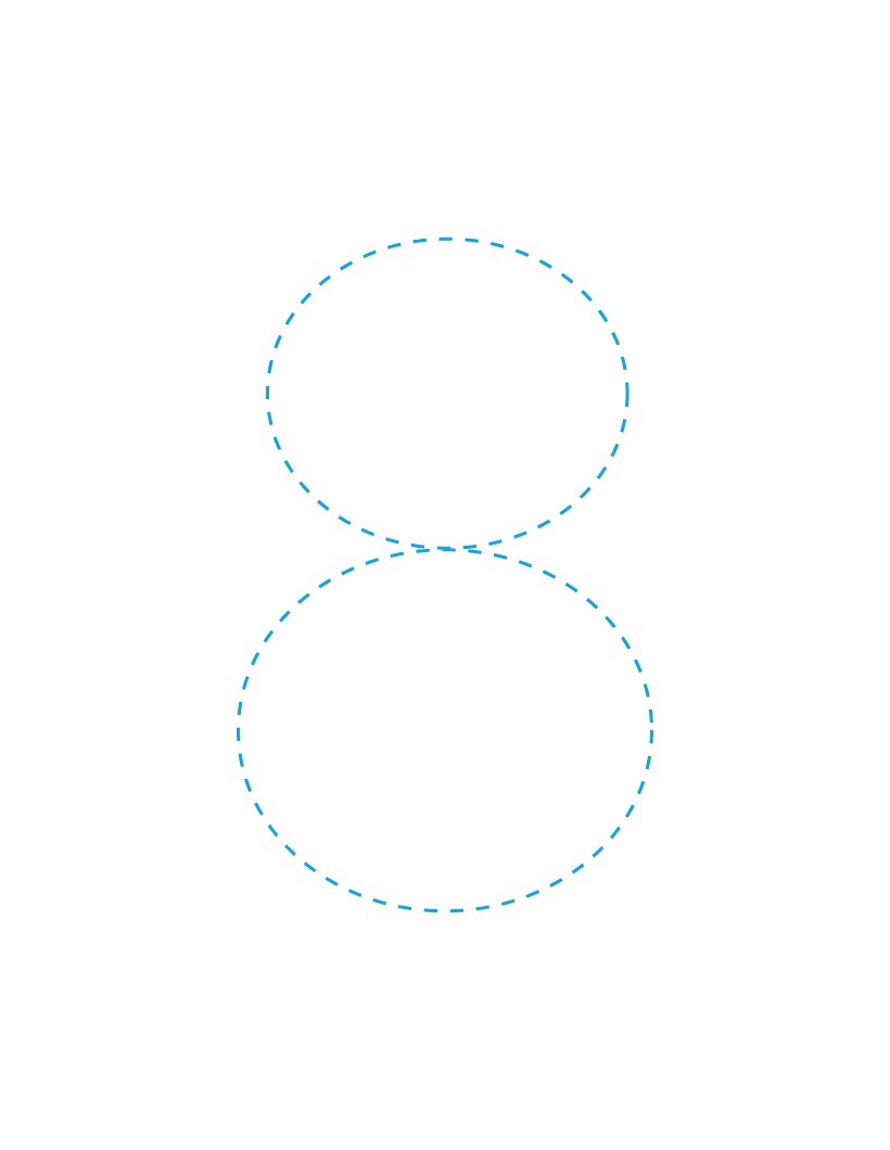 The Number 8 how-to draw lesson