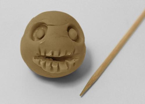 Halloween Clay Monsters homemade craft