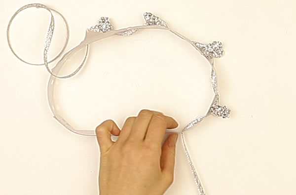 Making a Crown craft for kids