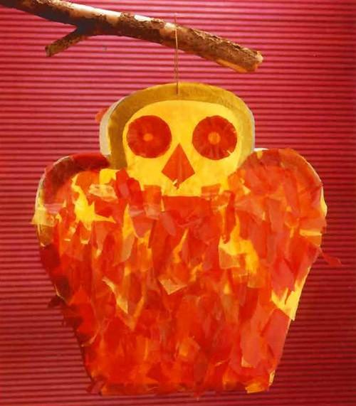 Owl Lantern craft for kids
