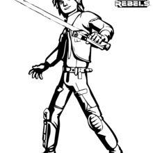 SWR-Ezra coloring page