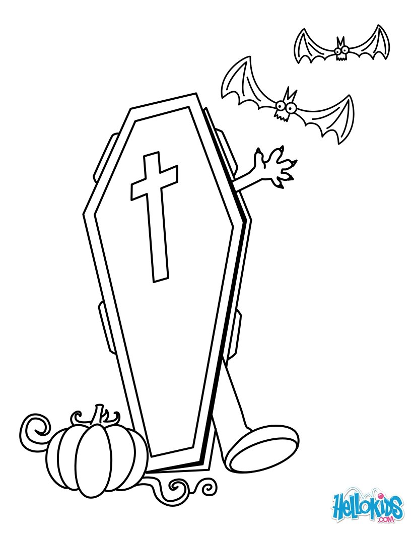 Wake from the Dead coloring page