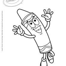 Crayola 17 coloring page