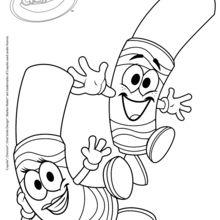 Crayola 5 coloring page