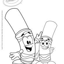 Crayola 8 coloring page