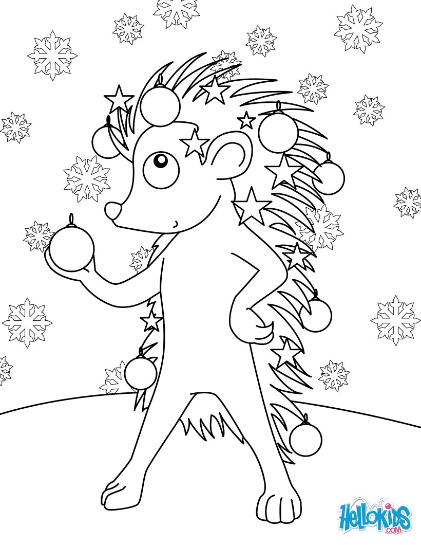 decorated kids coloring pages - photo#15