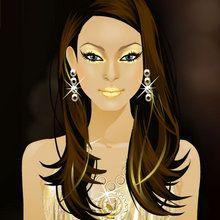 Glam Gal Gina : Gold Glitters
