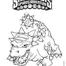 BASH coloring page