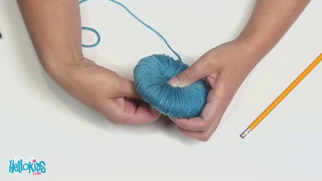 How to make a pompom craft for kids