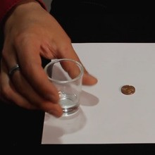 Make a Coin and a Glass Disappear video