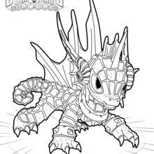 Echo coloring page