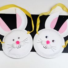 Easter Bunny Candy Holder craft for kids