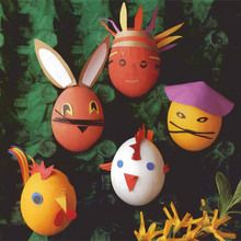 Easter Eggs Characters craft for kids