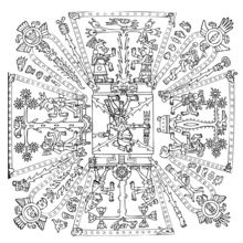 Xiuhtecuhtli coloring page