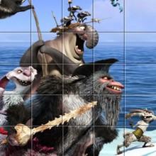Ice Age Pirates puzzle