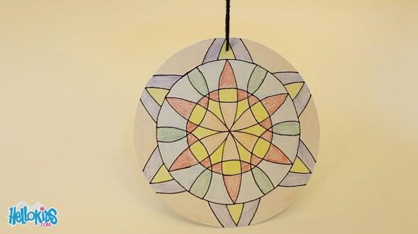 Make A Mandala Compass Flower