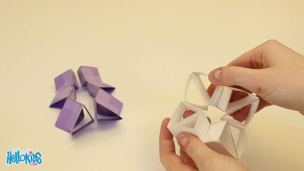Paper Toy Triangles paper toy