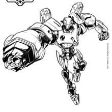 CYTRO Robot coloring page