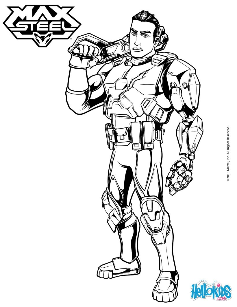 Forge Ferrus coloring page